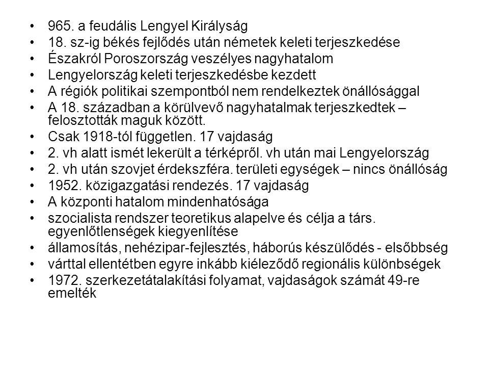 965. a feudális Lengyel Királyság