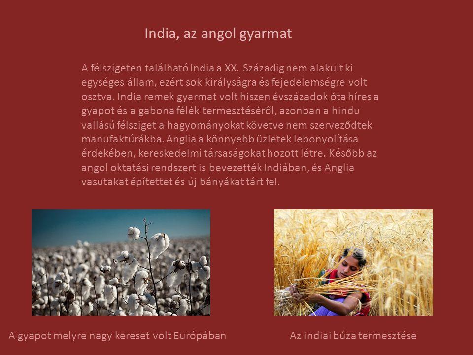 India, az angol gyarmat