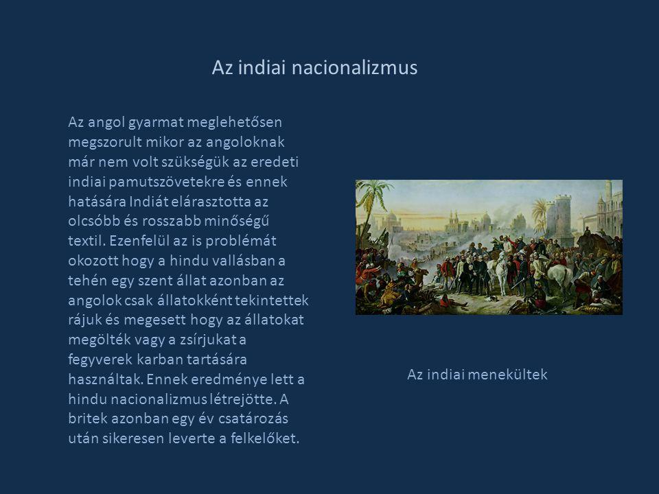 Az indiai nacionalizmus
