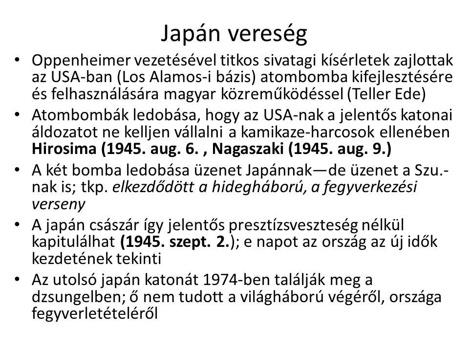 Japán vereség