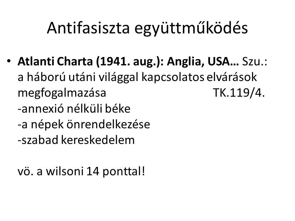 Antifasiszta együttműködés