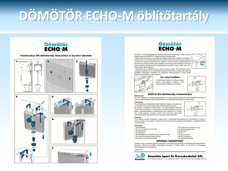 DÖMÖTÖR ECHO-M öblítőtartály