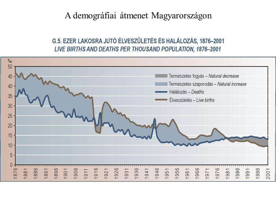 A demográfiai átmenet Magyarországon
