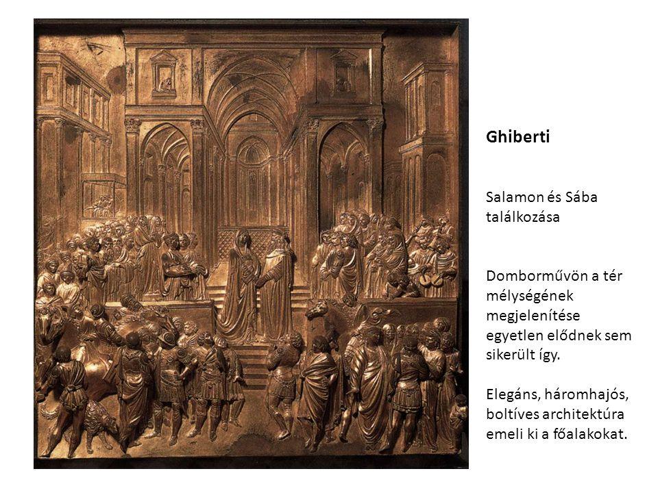 Ghiberti Salamon és Sába találkozása