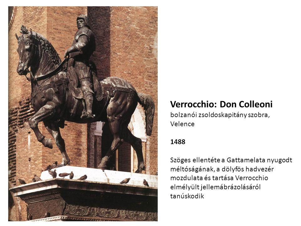 Verrocchio: Don Colleoni bolzanói zsoldoskapitány szobra, Velence