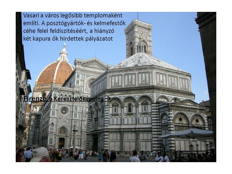 Firenze, a Keresztelőkápolna 