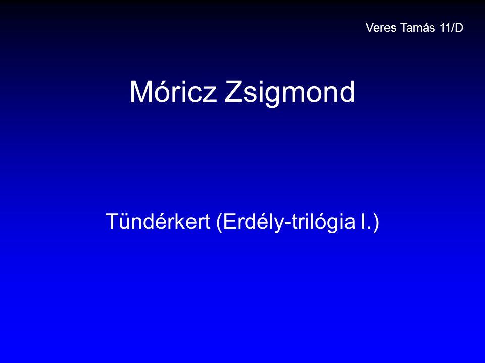 Tündérkert (Erdély-trilógia I.)