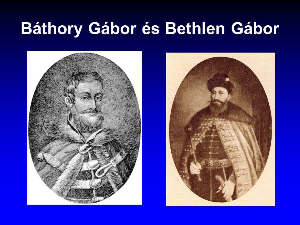 Báthory Gábor és Bethlen Gábor