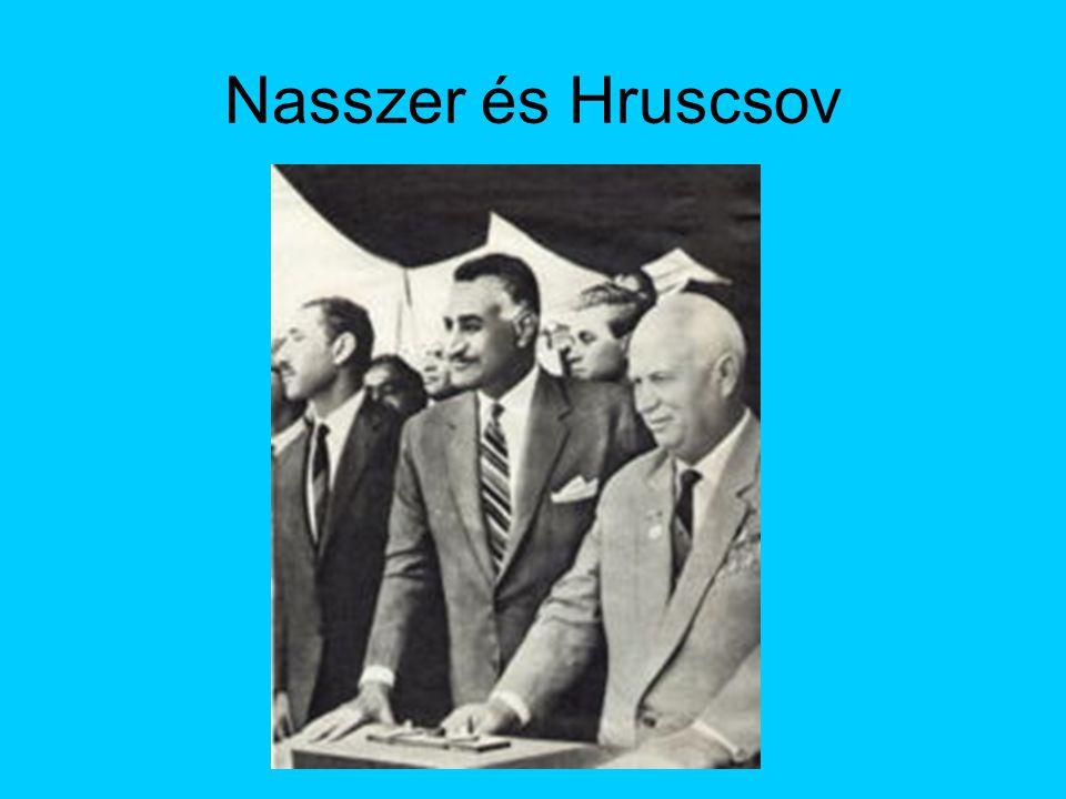 Nasszer és Hruscsov