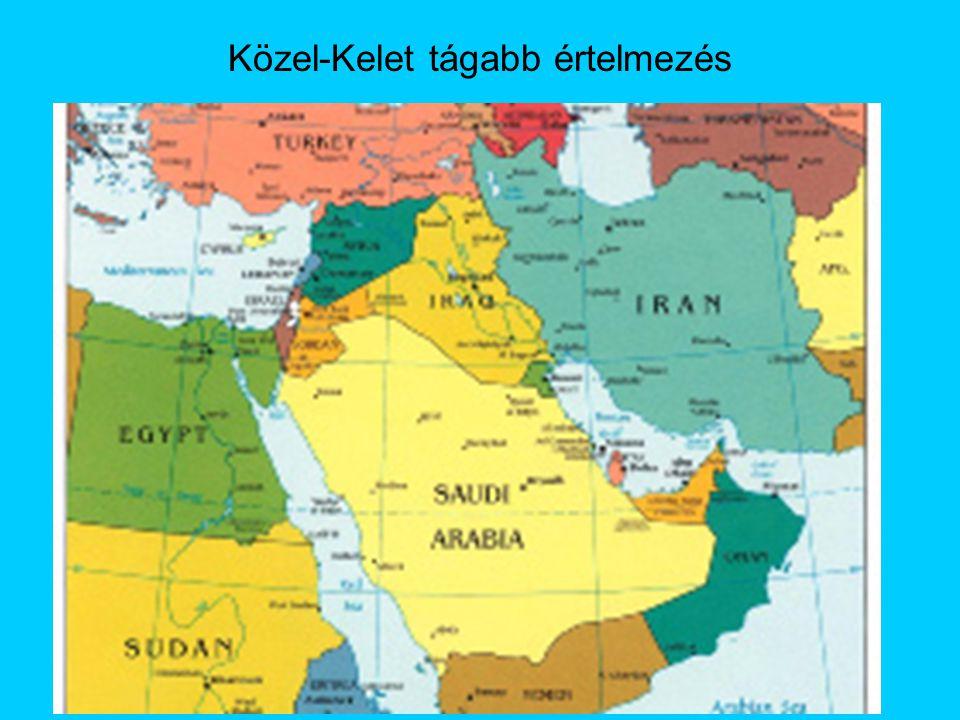 Közel-Kelet tágabb értelmezés