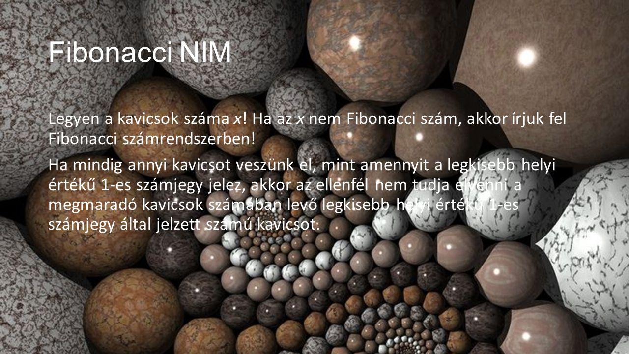 Fibonacci NIM