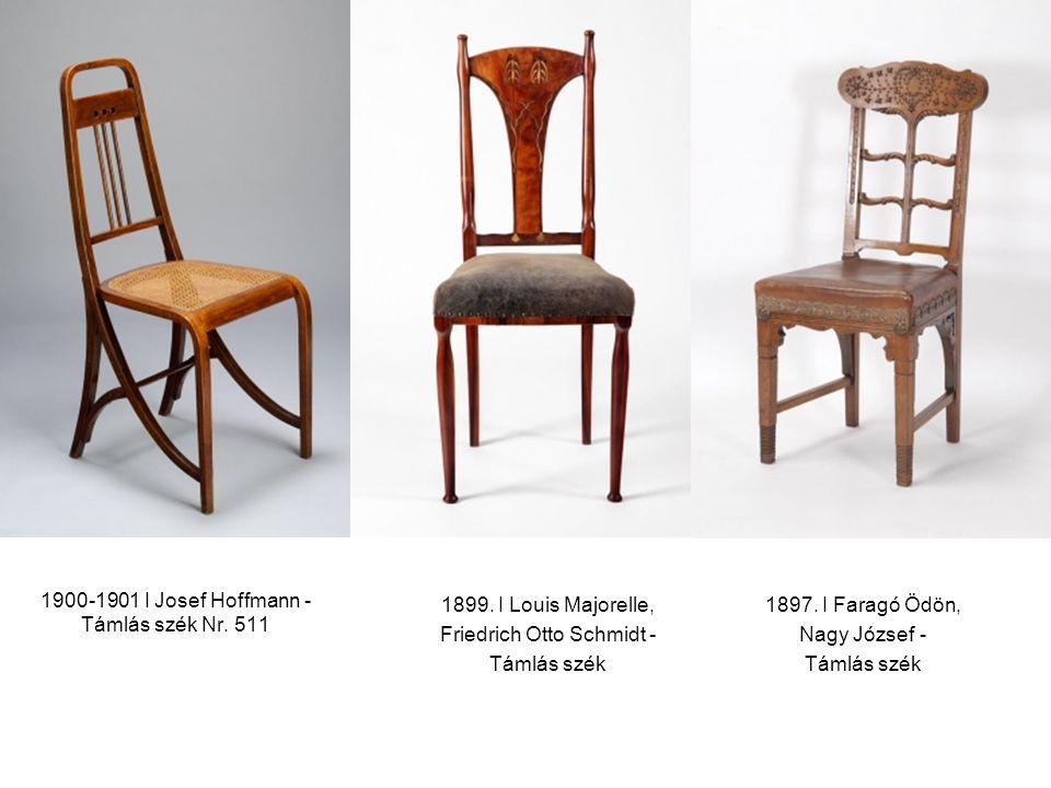 1900-1901 I Josef Hoffmann - Támlás szék Nr. 511