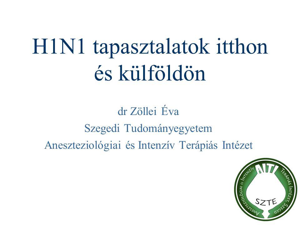 H1N1 tapasztalatok itthon és külföldön