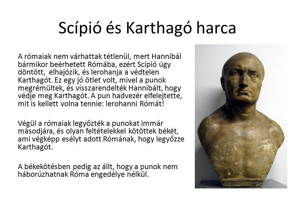 Scípió és Karthagó harca