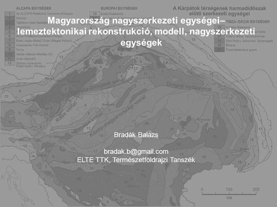 Magyarország nagyszerkezeti egységei–