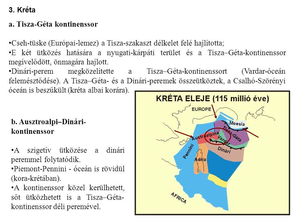 a. Tisza-Géta kontinenssor