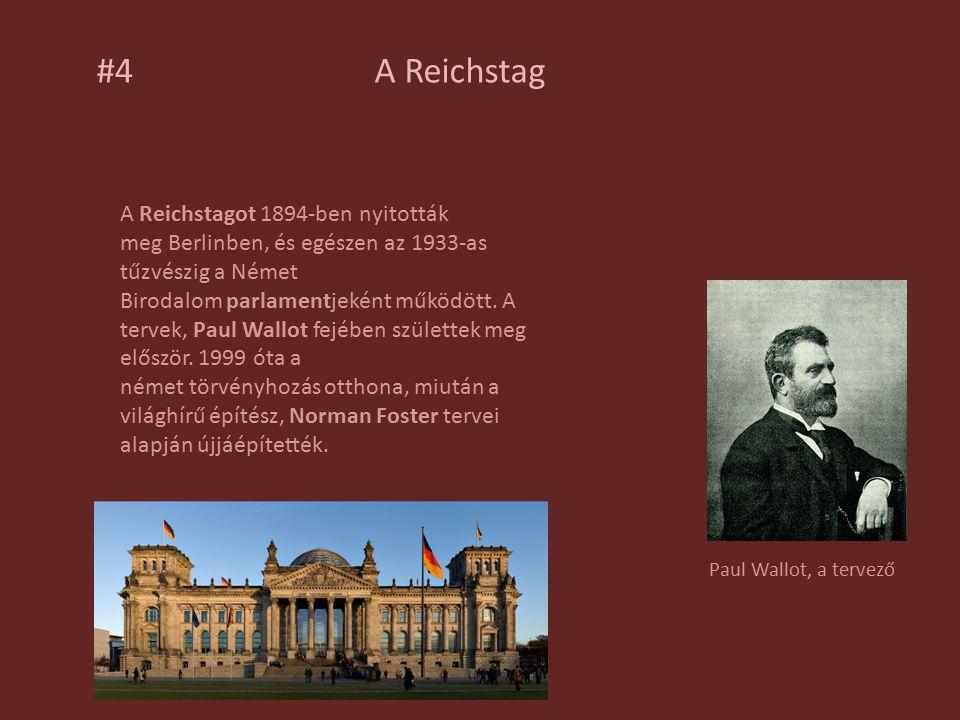 #4 A Reichstag.