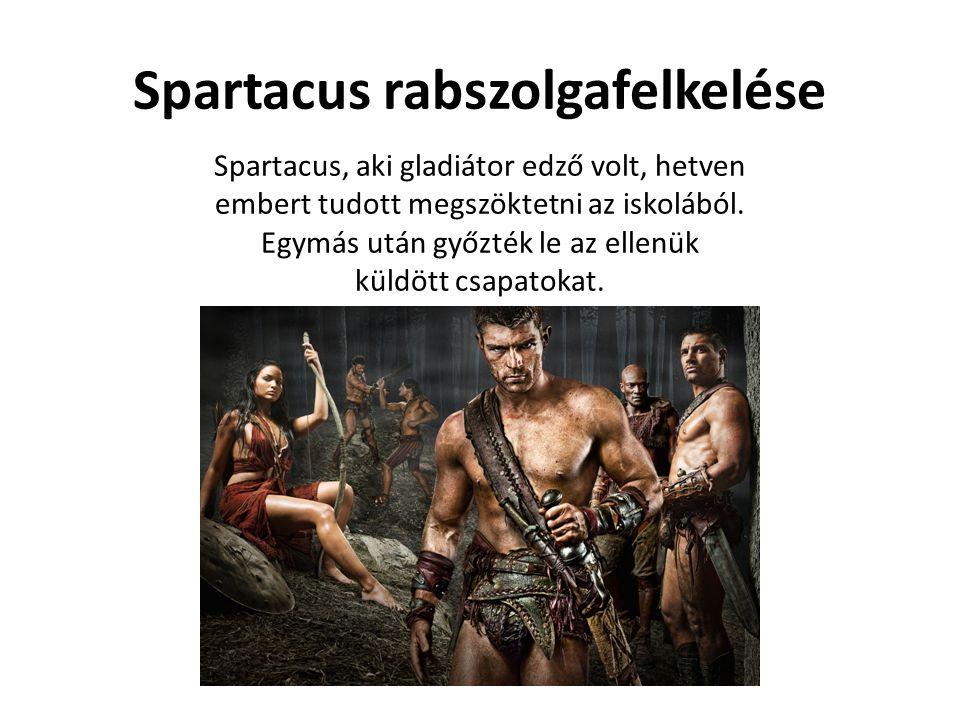 Spartacus rabszolgafelkelése