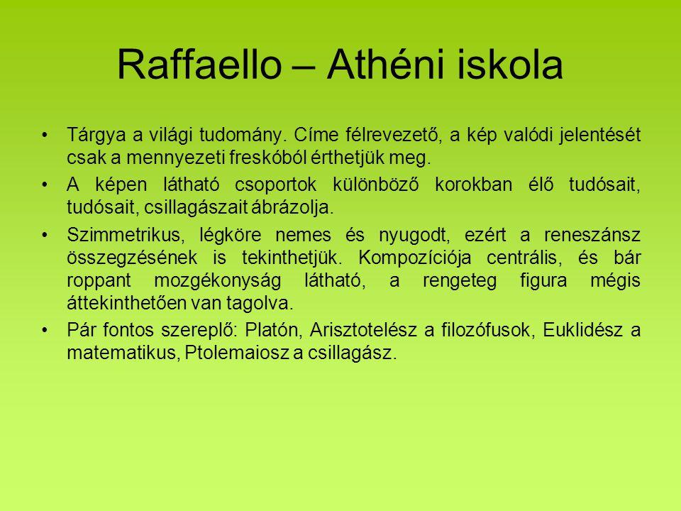 Raffaello – Athéni iskola