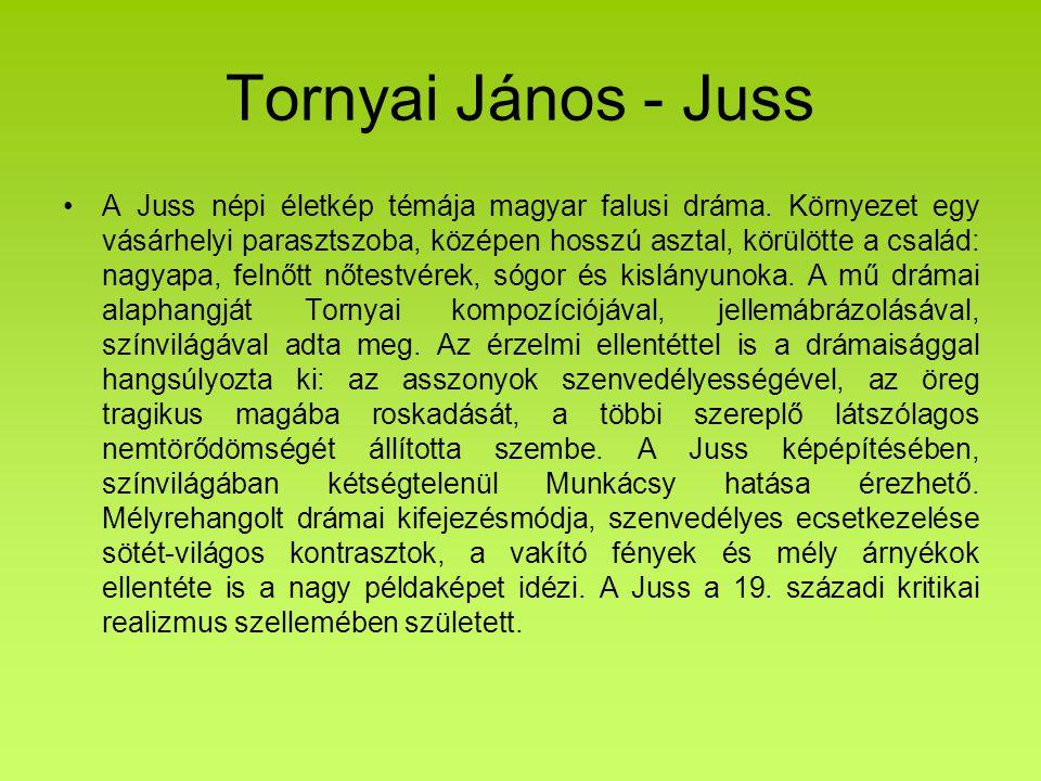 Tornyai János - Juss