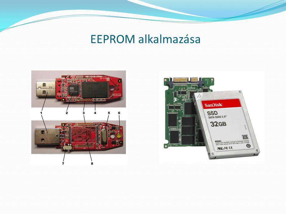 EEPROM alkalmazása