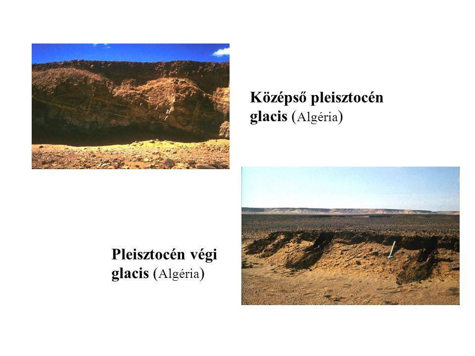 Középső pleisztocén glacis (Algéria) Pleisztocén végi glacis (Algéria)