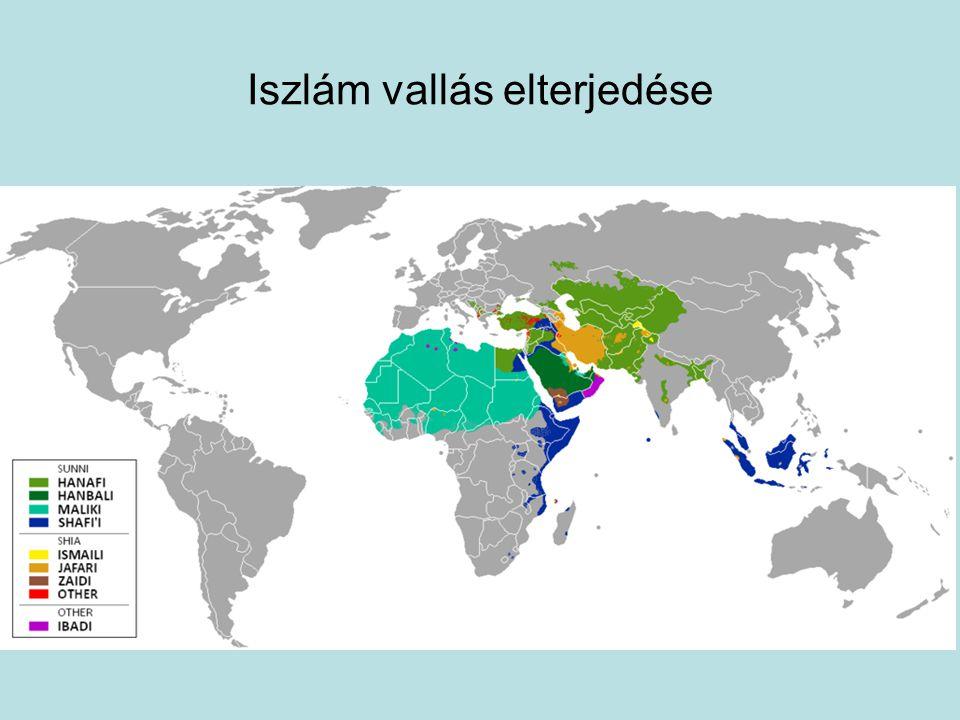 Iszlám vallás elterjedése
