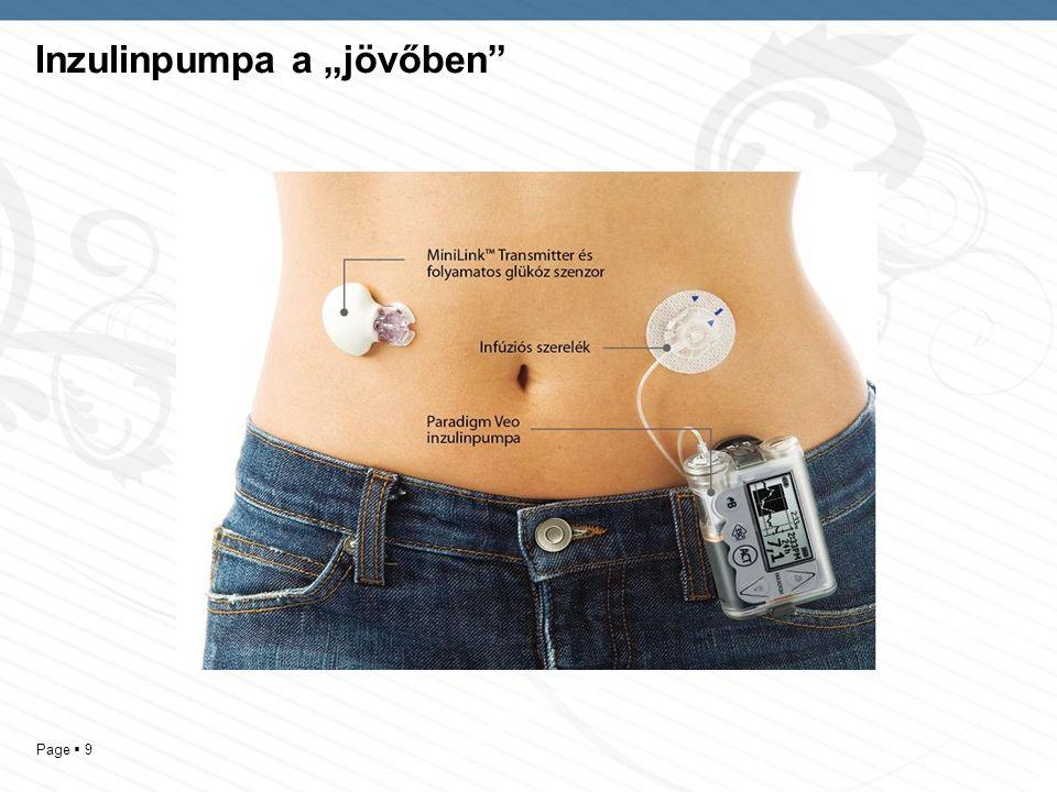 """Inzulinpumpa a """"jövőben"""