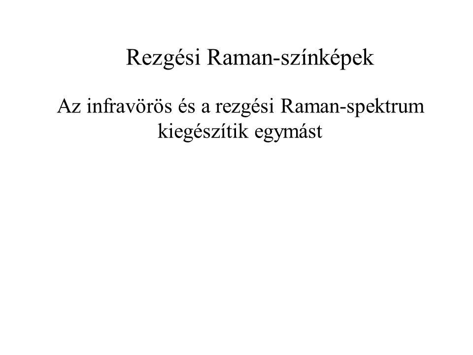 Az infravörös és a rezgési Raman-spektrum kiegészítik egymást