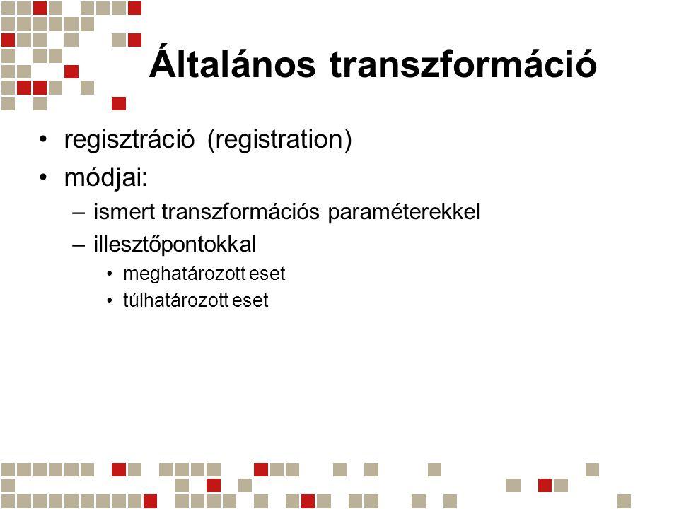 Általános transzformáció