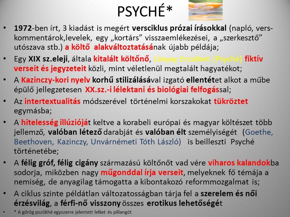 PSYCHÉ*