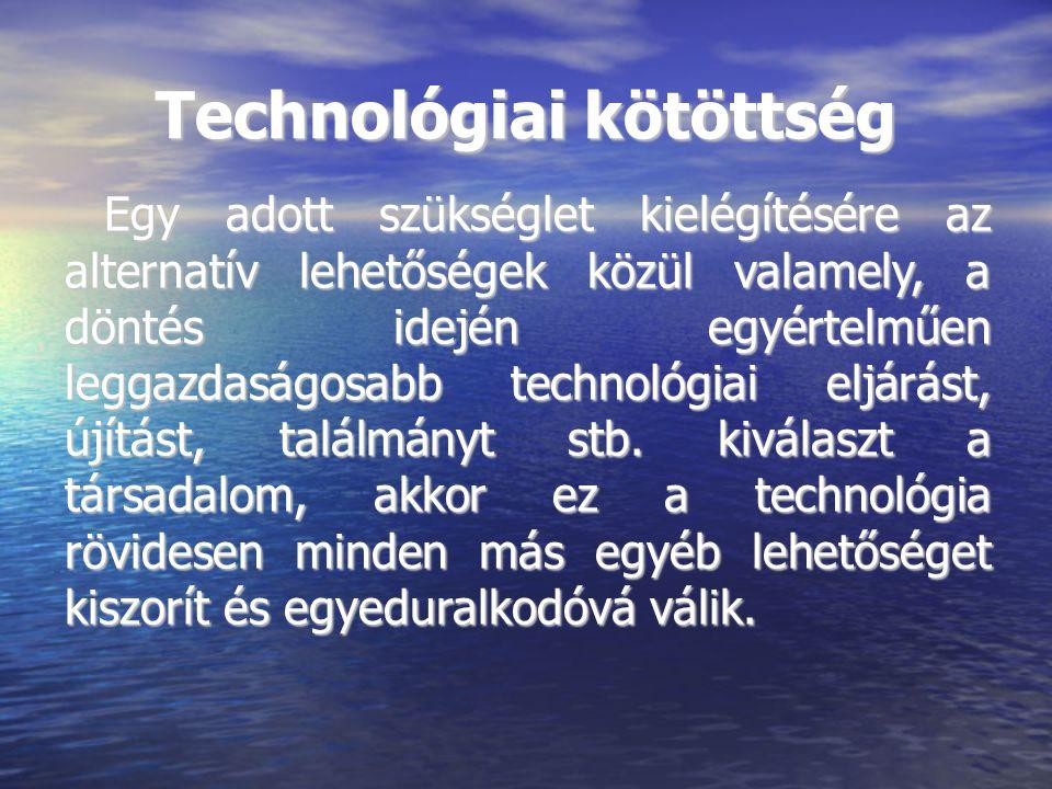 Technológiai kötöttség