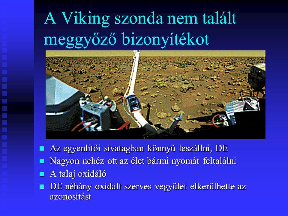 A Viking szonda nem talált meggyőző bizonyítékot