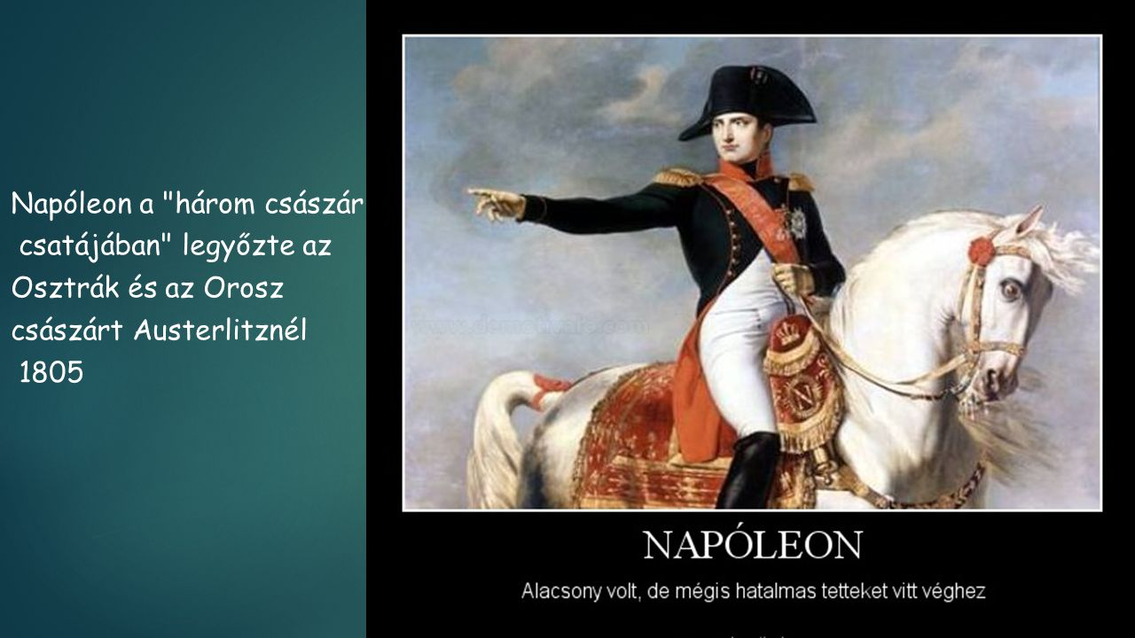 Napóleon a három császár