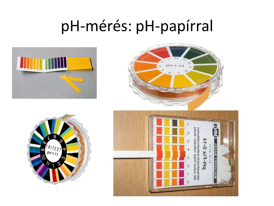 pH-mérés: pH-papírral
