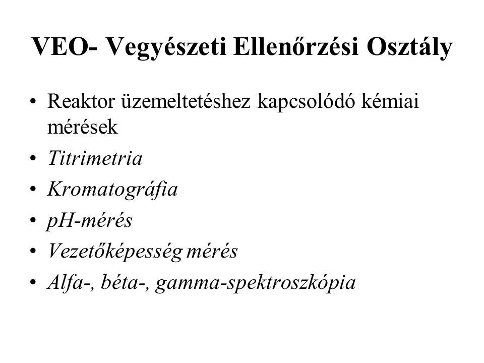 VEO- Vegyészeti Ellenőrzési Osztály