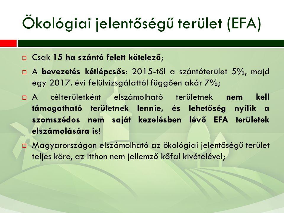 Ökológiai jelentőségű terület (EFA)