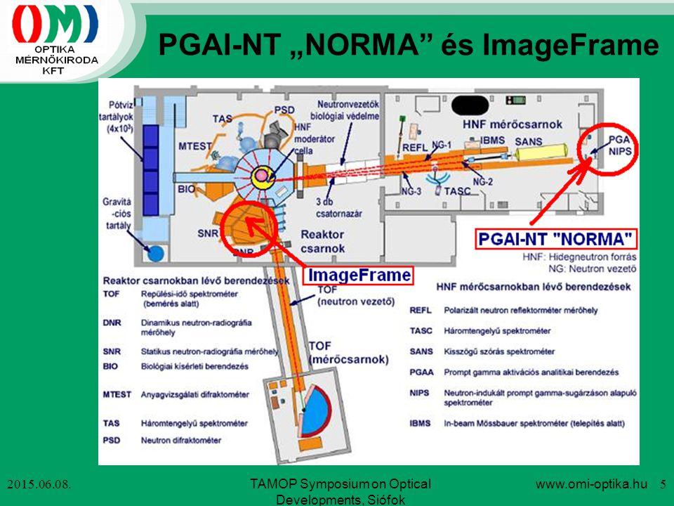 """PGAI-NT """"NORMA és ImageFrame"""