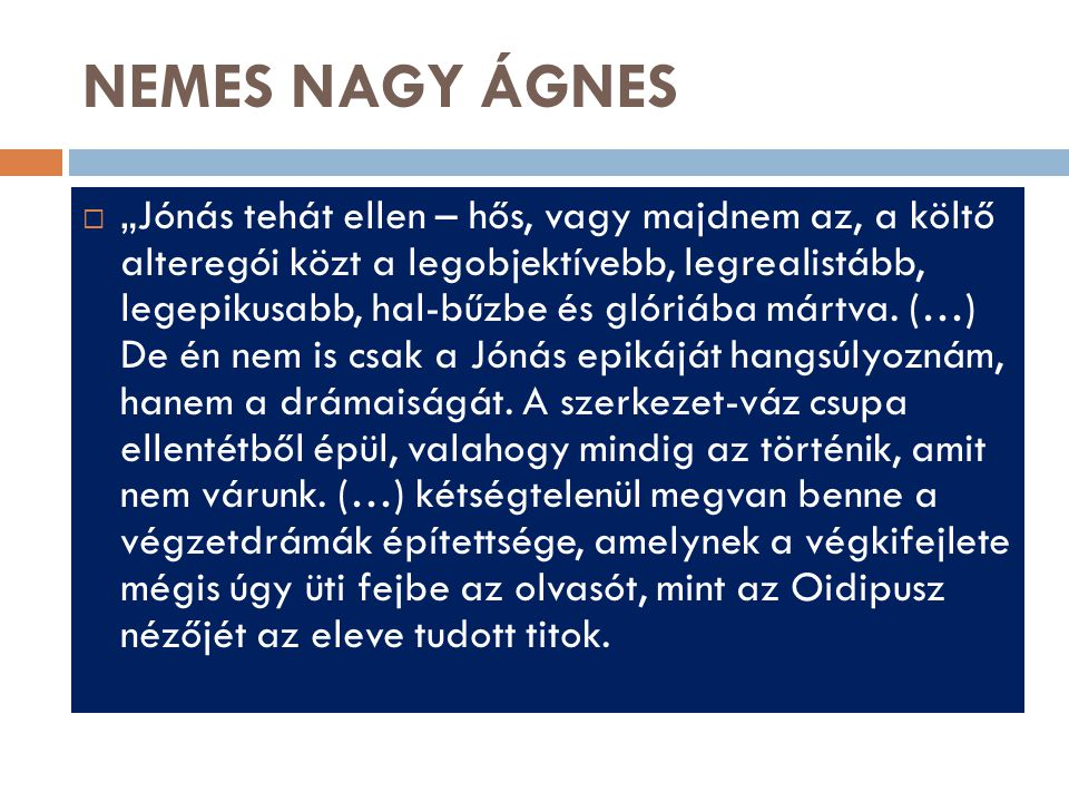 NEMES NAGY ÁGNES