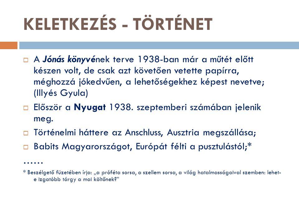 KELETKEZÉS - TÖRTÉNET