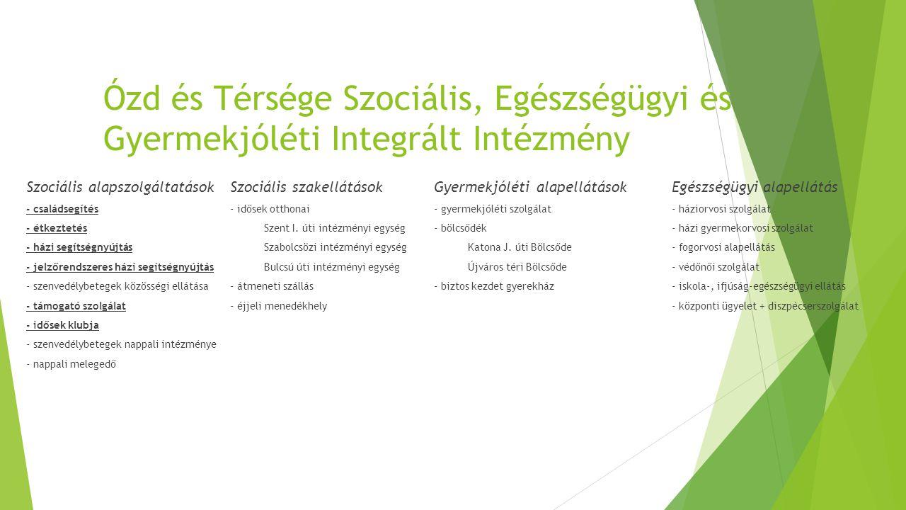 Ózd és Térsége Szociális, Egészségügyi és Gyermekjóléti Integrált Intézmény