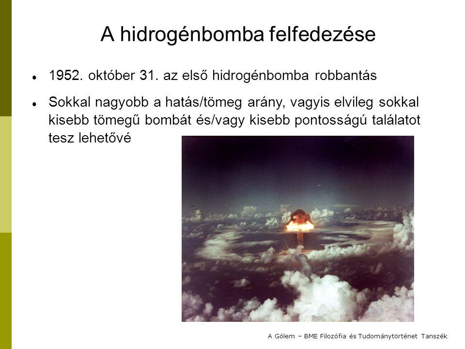 A hidrogénbomba felfedezése