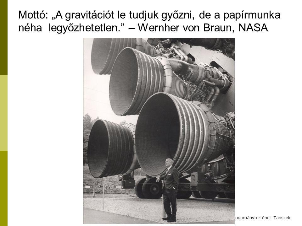 """2012. 2. 1. Mottó: """"A gravitációt le tudjuk győzni, de a papírmunka néha legyőzhetetlen. – Wernher von Braun, NASA."""