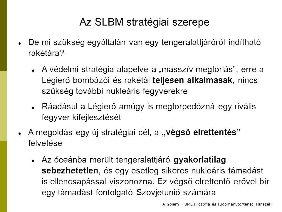Az SLBM stratégiai szerepe