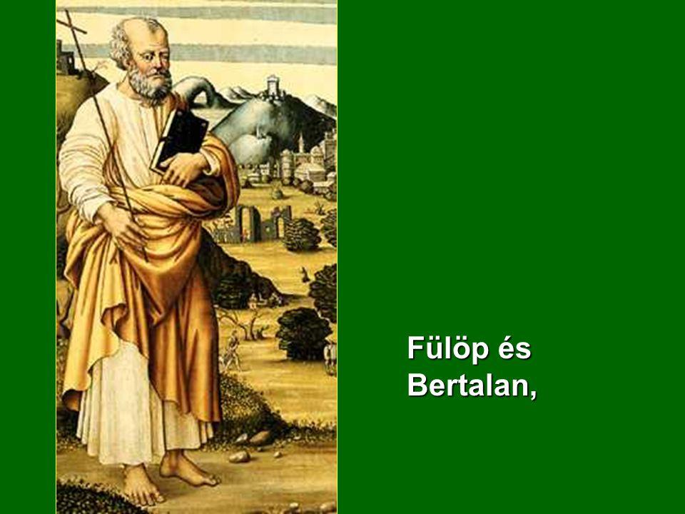 Fülöp és Bertalan,