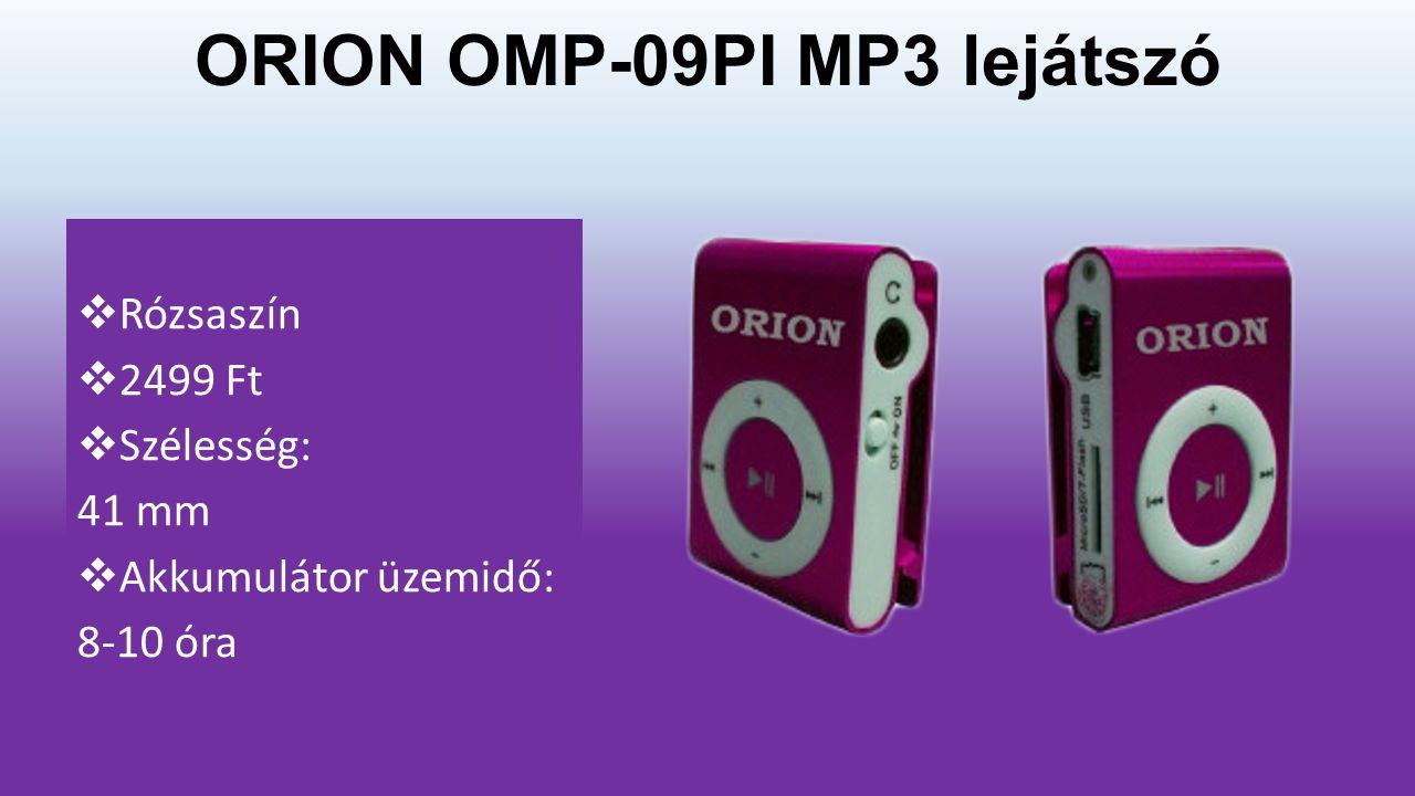 ORION OMP-09PI MP3 lejátszó