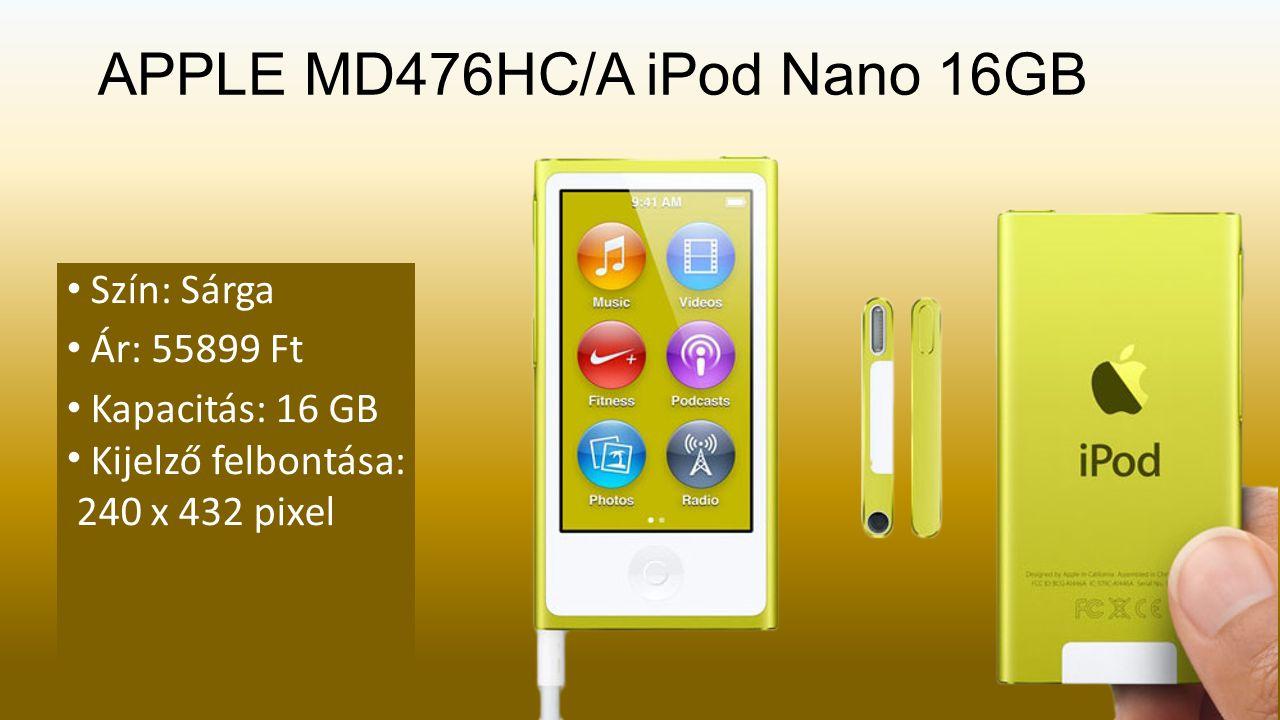 APPLE MD476HC/A iPod Nano 16GB