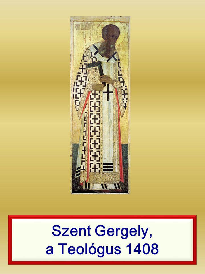 Szent Gergely, a Teológus 1408