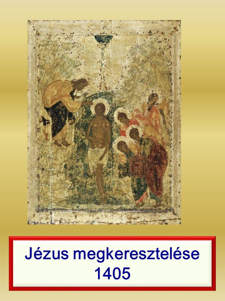 Jézus megkeresztelése 1405