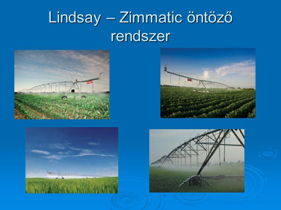 Lindsay – Zimmatic öntöző rendszer